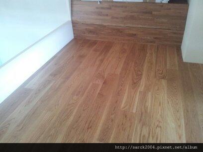 6/28-三重重新路住家木地板作品(使用:橡木本色300條推油)
