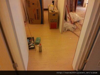 7/2-板橋國光路木地板完工(使用超耐磨木地板)!