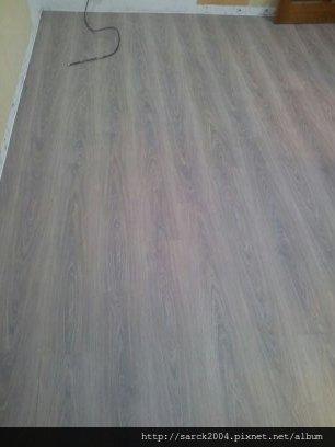 7/16-北市重慶北路住家木地板施工成果(使用:SU-大衛橡木)!