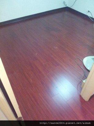 2012/7/20-汐止中興路木地板施工翻修作品(使用:花梨木)