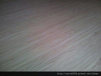 2012/7/23-北市中山北路12坪住家木地板施工作品(使用:松山柏木)