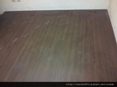 風格木地板-2012/8/7-板橋大智街小孩房木地板架高施工作品(使用:熱內盧)