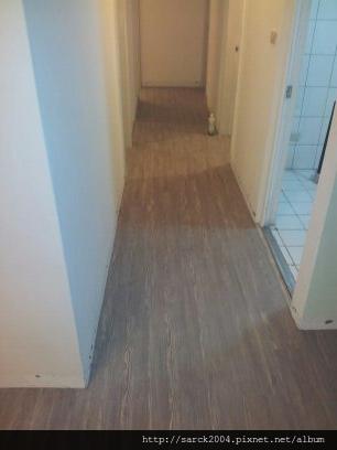 2012/8/26-27-林口長庚新村木地板施工(使用:蒼古硬橡)之室內裝修!