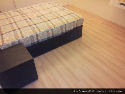 2012/8/28-樹林山佳木地板施工作品(使用:波斯頓橡木)超耐磨木地板!
