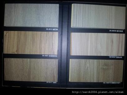 9月起至年底-促銷此6款及同類型超耐磨木地板!給您最平價的木地板施工!