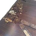 2012/9/12-13*宜蘭市女中路木地板架高漏水拆除施工*