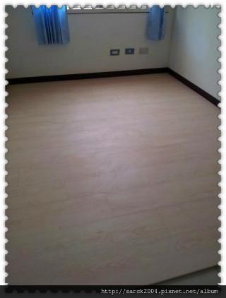 2012/9/15-大直樂群二路超耐磨木地板施工(品名:極慕)