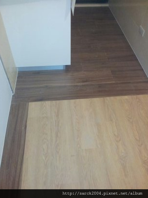 2012/9/28*北市錦西街住家*木地板滾邊雙拼施工(品名:極慕,歐洲山胡桃)