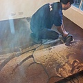 2012/10/1*新莊公園路木地板維修拆除復原施工(使用:紫檀木厚皮200條)特價中!