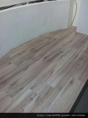 2012/10/7*北市南京東路*強化海島型超耐磨木地板*使用:新巴里島