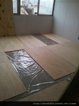 2012*桃園八德住家作品13坪木地板施工*黃花梨*晶鑽系列