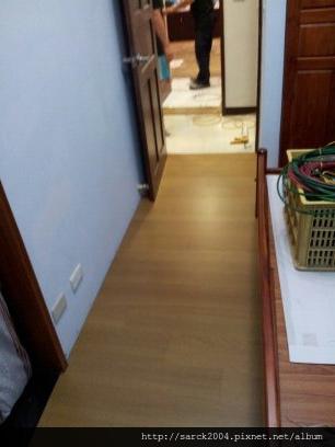 2012*政大一街住家24坪木地板代工*橡木染灰*代工達人
