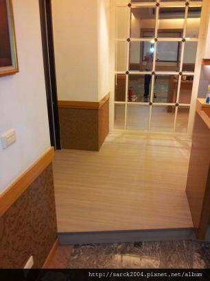 2012*桃園八德社區12坪木地板施工作品*威尼斯*超耐磨浮雕系列