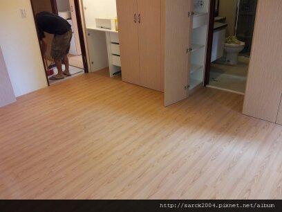 2012*中和忠孝街住家作品8.5坪木地板施工*康乃馨*立體同步對紋
