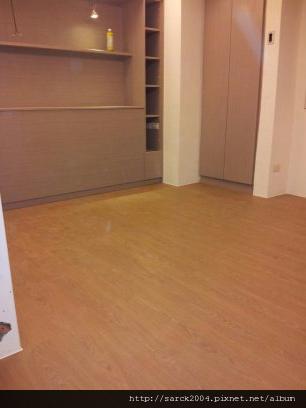 2012*新店永業路住家作品5坪木地板施工*伯格橡木*手刮立體浮雕同步對紋*理想家