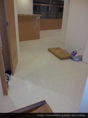 2012*基隆透天厝32坪木地板施工*使用海島型木地板&海島型超耐磨木地板