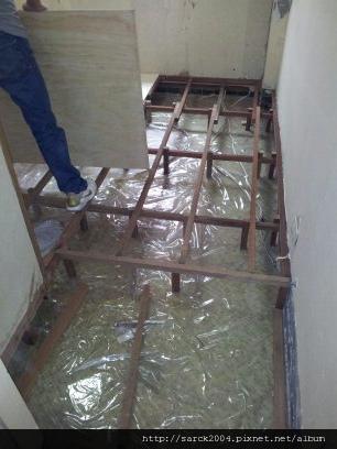 2012*基隆樂利三街木地板施工翻新*晶鑽系列*紫檀木