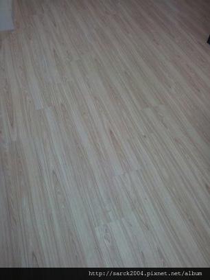 2012*土城明德路木地板施工*台灣檜木*海島型超耐磨木地板