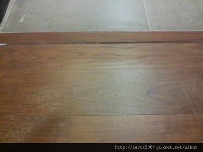 2013*北市波麗路餐廳木地板施工*胡桃木推油(MIT)*佳樂美系列*海島型木地板