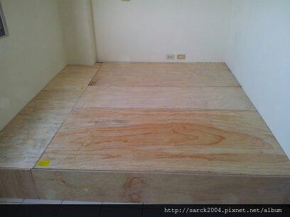 2013*新竹頭份透天厝木地板施工*厚皮南美柚木200條*戶外南方松施工*海島型木地板