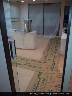 2013*北市復興南路牙醫診所木地板平舖施工*富士橡木*普羅旺斯系列