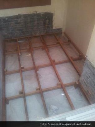 2013*內湖區大湖山莊街木地板施工作品*白橡木*理想家_美耐雅系列