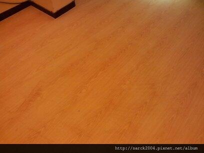 2013*台北市士林區平舖超耐磨木地板施工*雷根橡木/同步木紋系列/理想家!