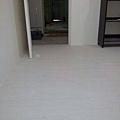 2013*新竹市鐵道路平鋪木地板施工*密蘇里橡木/水波紋系列*純白極簡風_橡木紋路(OAK)*超耐磨木地板!