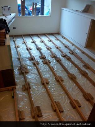 風格木地板*2013*北市民生東路木地板平舖&架高施工*設計師的家,超有設計感*品名:馬爾地夫榆木/手刮浮雕系列/超強化海島型超耐磨木地板(綠建材)!