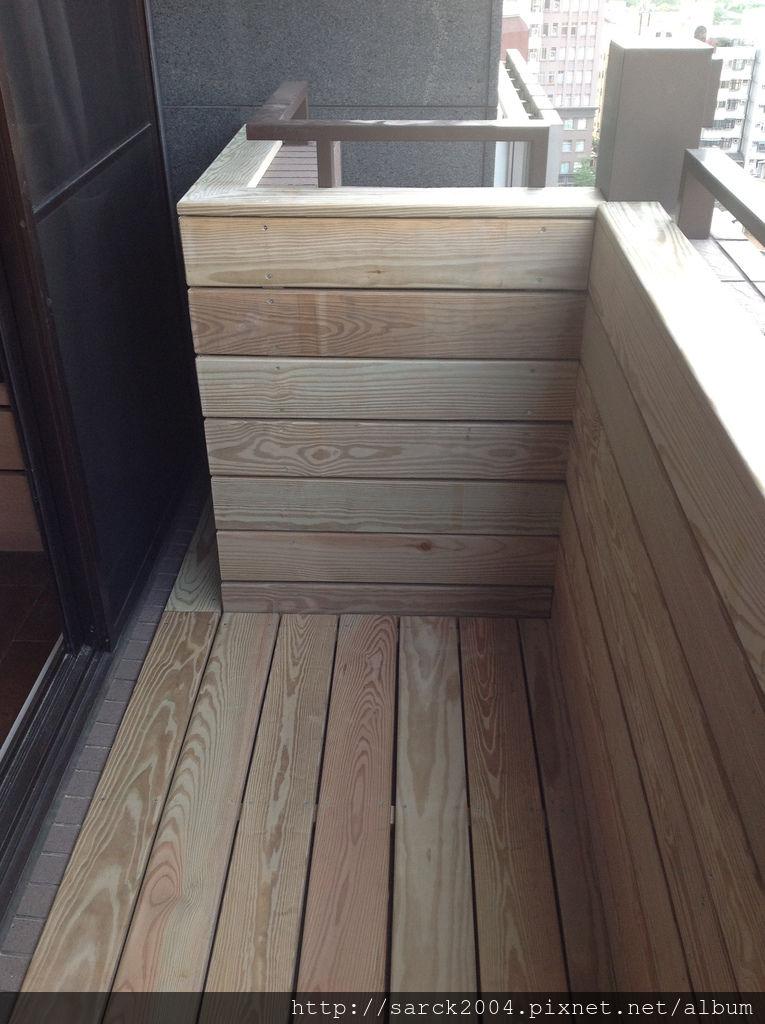 南方松戶外材實木地板