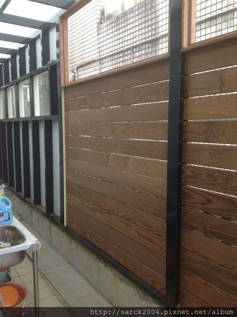 碳化南方松/戶外實木地板