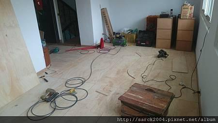 品名:普魯士/超耐磨木地板