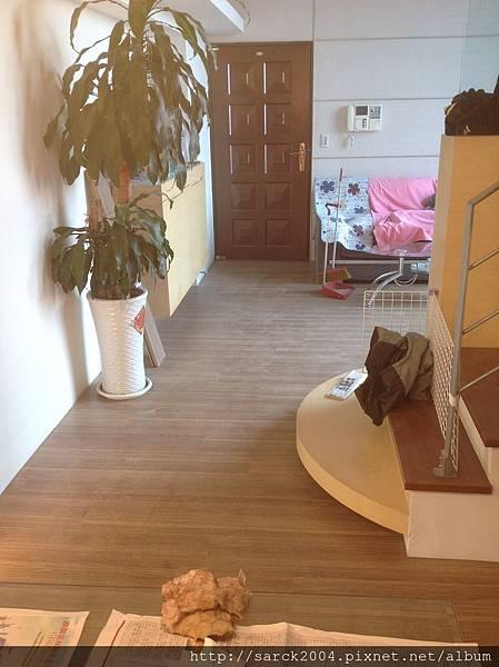 品名:金鑽橡木/海島型超耐磨木地板