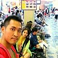 全身都淋濕了 也要回台北了 (4)