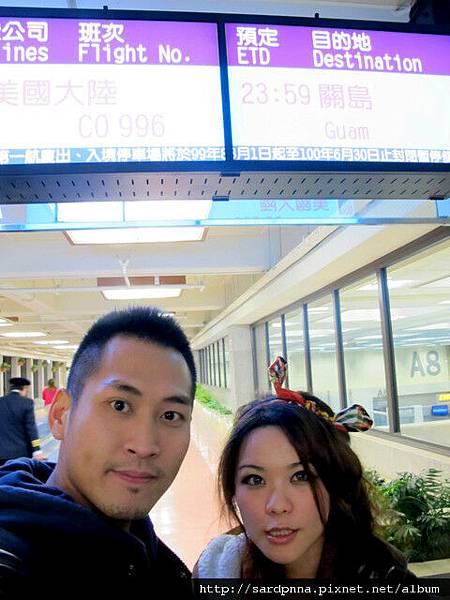 2011-1-17-關島@桃園機場出發到關島 (14)