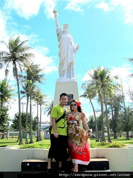 2010-1-18 關島市區觀光 @自由女神像照耀的太平洋戰_010