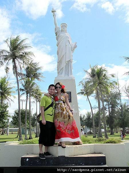 2010-1-18 關島市區觀光 @自由女神像照耀的太平洋戰_011