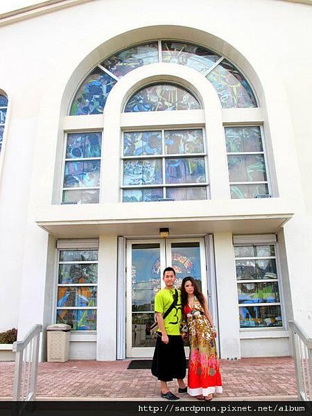 2010-1-18 關島市區觀光 @聖母瑪利亞教堂 (7)