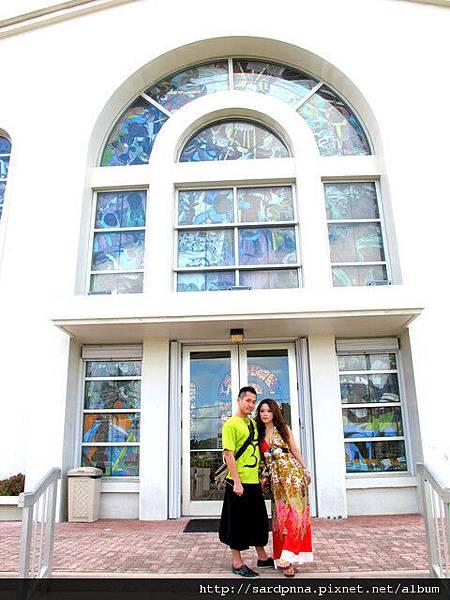 2010-1-18 關島市區觀光 @聖母瑪利亞教堂 (8)