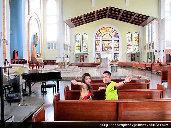 2010-1-18 關島市區觀光 @聖母瑪利亞教堂 (12