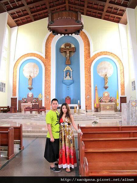 2010-1-18 關島市區觀光 @聖母瑪利亞教堂 (16