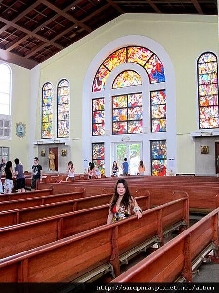 2010-1-18 關島市區觀光 @聖母瑪利亞教堂 (19