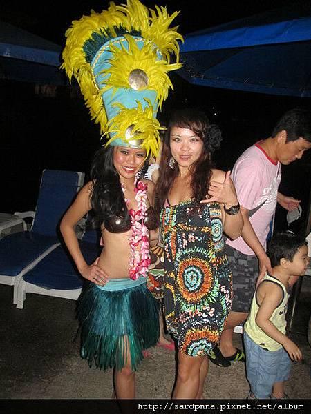 2010-1-20-太平洋之夜密克羅尼西亞豪華晚餐秀 ~