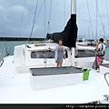 2011-1-20-關島@白色雙船身動力風帆「美人魚公主號」_001