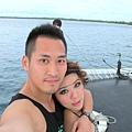 2011-1-20-關島@白色雙船身動力風帆「美人魚公主號」_018