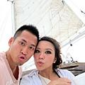 2011-1-20-關島@白色雙船身動力風帆「美人魚公主號」_032