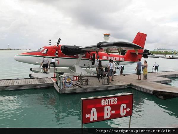 搭乘水上飛機 (12)