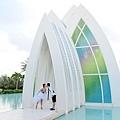 玩拍婚紗 第二站 關島 最水教堂 海之教堂   (29)婚紗照用