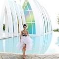 玩拍婚紗 第二站 關島 最水教堂 海之教堂   (30)婚紗照用