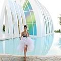 玩拍婚紗 第二站 關島 最水教堂 海之教堂   (31)婚紗照用